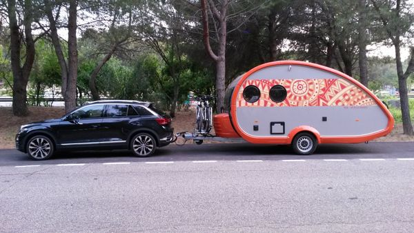 Wohnwagen T b 400 Mexican
