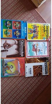 Gitarren Schlagzeug Bläser Noten - Lehrbücher