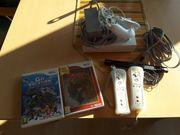 Nintendo Wii Konsole mit 2