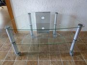 2 TV Tische aus Glas