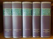 Riemann Musiklexikon 5 Bände