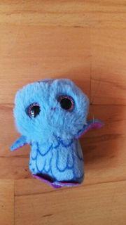 Glubschi blau lila Eule