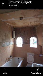 Renovierungsarbeiten Haus Wohnung