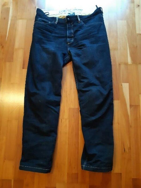 Vanucci Jeans Motorrad Hose Kevlar