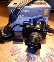Olympus E-510 DSLR-Kamera mit Objektiv