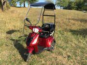 Seniorenmobil E-Trike mit Dach