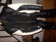 Damenlederkombi und Damen Textiljacke und