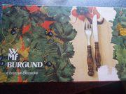 WMF Burgund Brotzeit Besteck