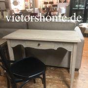 Kleiner Schreibtisch Naturholz antik Konsole