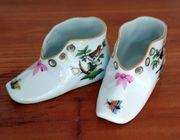 Porzellan Schuhe Meissen