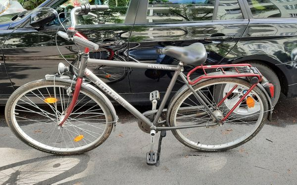 Gut erhaltenes 28-er Herren-Alu-Rad Windsor