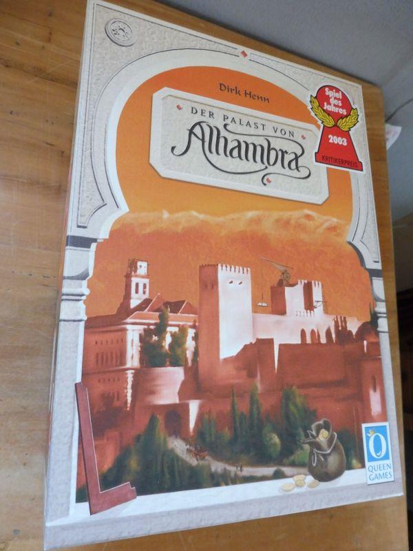 Alhambra Familien-Spiel neu orig Verpackt