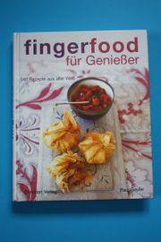 Fingerfood für Genießer Kochbuch 140