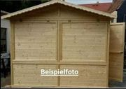 Neue Weihnachtshütte - Holzhütte 3 x