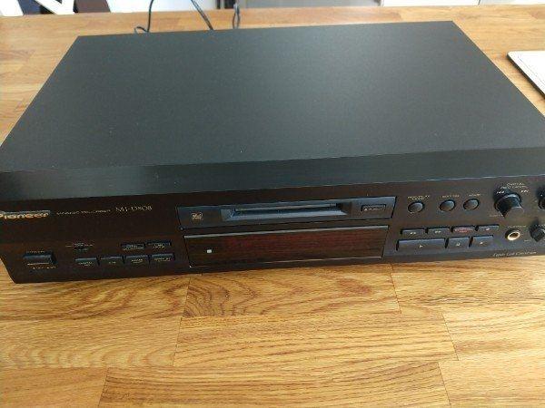 HIFI Pioneer Minidisc MJ-D508 TOP
