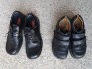 Schwarze Schuhe Schuhe für Firmung
