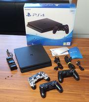 PS4 Slim black 500GB 3