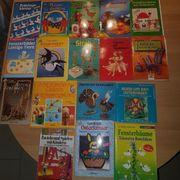 22 Bastelbücher Hefte Ostern Seidenmalerei