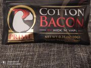 cotton bacon watte E-Zigarette