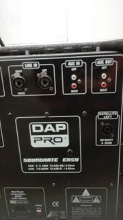 DAP Pro Easy Soundhate Anlage