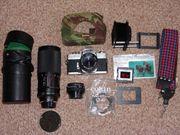 Analoge Spiegelreflexkamera Minolta SRT 303b
