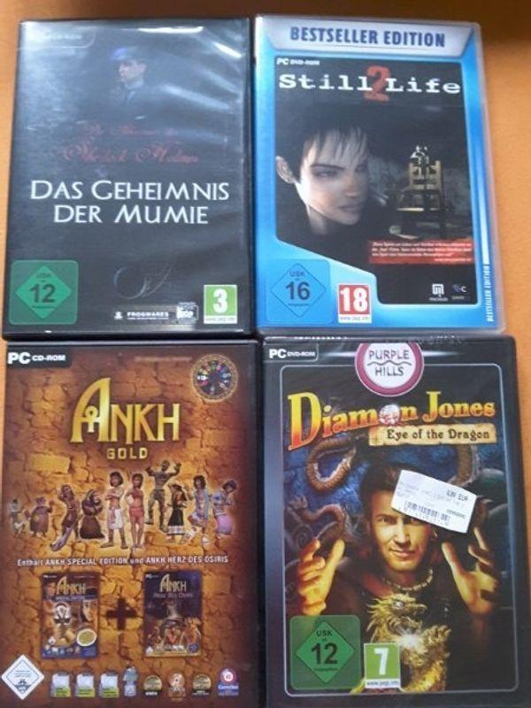 4 PC Spiele eines nagelneu