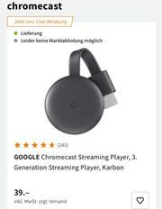 chromecast 3 Generation