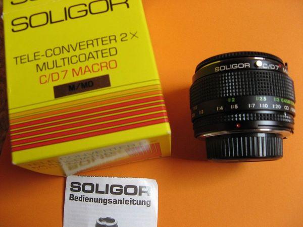 Soligor Tele-Converter 2X Multicoated, C/D7 Macro