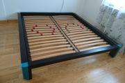 Futonbett Massivholz modern