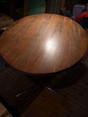 Esstisch Tisch Vollholz Nuß oval