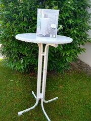 Neuer Eleganter Steh- Bistrotisch mit