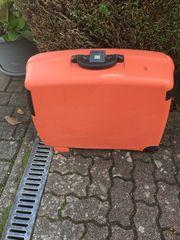 Hartschalenkoffer orange