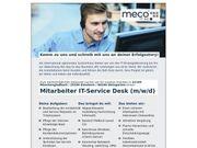 Mitarbeiter IT-Service Desk m w