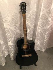 Fender CD60CE BLK Westerngitarre