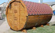 Sauna Saunafass 45mm L200cm D220cm