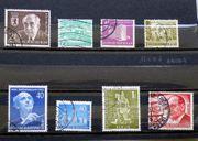 Briefmarken Berlin 1954-1971 Einzelmarken und
