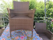 Polyrattan Gartenstühle