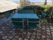 Gartentisch 4 Stühle Bank