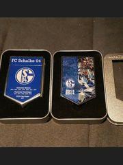 2x FC Schalke 04 Wimpel