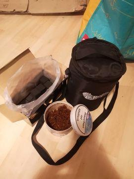 Shisha to go mit Tasche: Kleinanzeigen aus Karlsruhe Palmbach - Rubrik Campingartikel