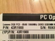 Lenovo 2 Gigabyte Speichermodul PC3-8500