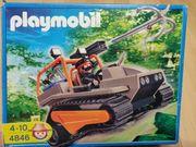 Playmobil Schatzräuber Kettenraupe