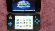 Nintendo 2DS XL schwarz türkis