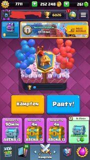 Clash Royale Account Level 13