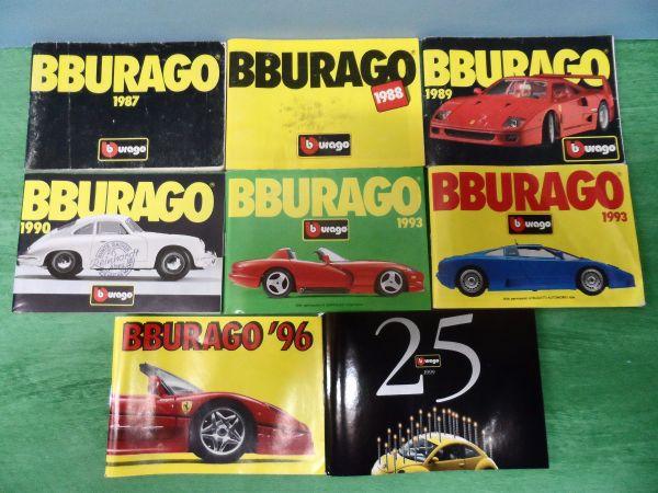 Burago acht Mini Modellauto - Katalog -