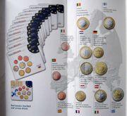 Euro-Umlaufmünzen der 12 Länder Limitiert