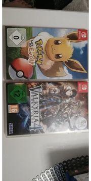 Nintendo Switch Spiele Pokemon und