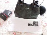 Moschino Designer Handtasche Mit Geldbörse