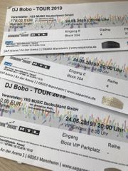 DJ Bobo VIP Tickets 2