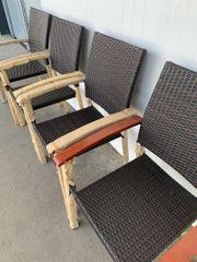 50 Gartenstühle stapelbar Balkon Stapelstühle